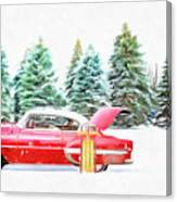 Santa's Other Sleigh Canvas Print