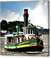 Savannah Belles Ferry Canvas Print