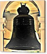 Savannah Exchange Bell Canvas Print