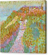 Sea And Dunes In Domburg Canvas Print
