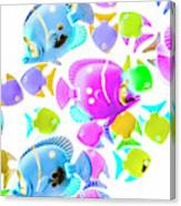 Sea Swimmers Canvas Print
