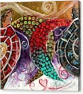 Sea Turtle Love Canvas Print
