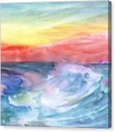 Sea Wave Canvas Print