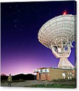 Search For Extraterrestials Canvas Print