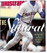 Seattle Mariners Ken Griffey Jr... Sports Illustrated Cover Canvas Print
