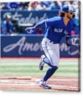 Seattle Mariners V Toronto Blue Jays Canvas Print