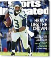 Seattle Seahawks Heavy Lies The Crown Sports Illustrated Cover Canvas Print