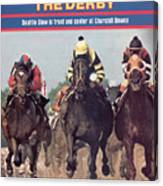 Seattle Slew, 1977 Kentucky Derby Sports Illustrated Cover Canvas Print