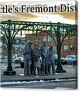 Seattle's Fremont District  Canvas Print