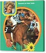Secretariat, 1973 Preakness Stakes Sports Illustrated Cover Canvas Print