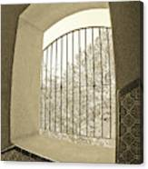 Sedona Series - Through The Window Canvas Print
