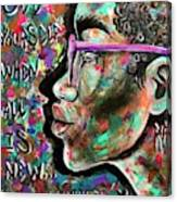 See yourself when all is new  Canvas Print