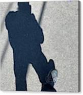 Self Portrait 19 - Balancing With My Shadow Canvas Print