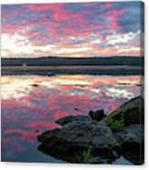 September Dawn At Esopus Meadows I - 2018 Canvas Print