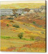 September In The Realm Of West Dakota Canvas Print