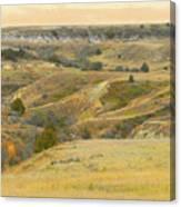 September Ridgeline Reverie Canvas Print