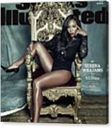Serena Williams, 2015 Sportsperson Of The Year Sports Illustrated Cover Canvas Print