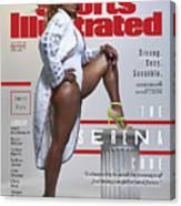 Serena Williams Sports Illustrated Cover Canvas Print