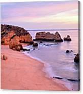 Serene Pastel Shores Canvas Print