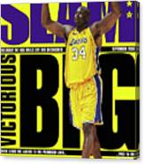 Shaquille O'Neal: Notorious BIG SLAM Cover Canvas Print