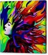 She Transcends Canvas Print