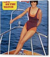 Sheila Roscoe Swimsuit 1972 Sports Illustrated Cover Canvas Print