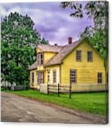 Sherbrooke Village 001 Canvas Print