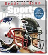 Shootout Super Bowl Li Preview Sports Illustrated Cover Canvas Print