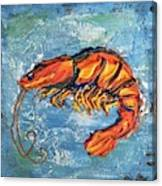 Shrimp Canvas Print