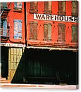 Shuttered Warehouse On The Lower East Canvas Print