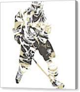 Sidney Crosby Pittsburgh Penguins Pixel Art 23 Canvas Print