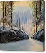 Silence    #153 Canvas Print