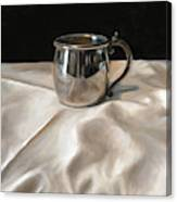 Silver Cup Canvas Print