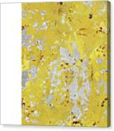 Silvery Yellow Ii Painting By Natalie Avondet
