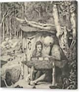 Simplici Schreibstunde, From The Series Intermezzi Canvas Print