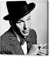 Sinatra Portrait Canvas Print
