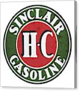 Sinclair Gasoline Canvas Print