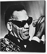 Singer Ray Charles Canvas Print