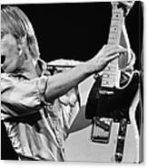 Singer Tom Petty Performs In Concert Canvas Print