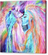 Sirian Love Canvas Print
