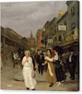 Sixth Avenue And Thirtieth Street, New York City, 1907 Canvas Print