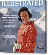 Ski Clothes In Austria Sports Illustrated Cover Canvas Print
