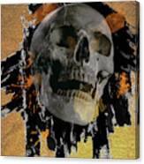 Skull - 9 Canvas Print