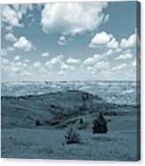 Sky And Prairie Dance Canvas Print
