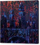 Skyline Cleveland Canvas Print