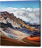 Sliding Sands Trail, Haleakala National Canvas Print