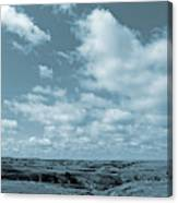 Slope County And Sky Canvas Print