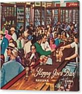 Sloppy Joes Bar, Havana, Cuba, 1951 Canvas Print