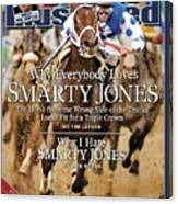 Smarty Jones, 2004 Kentucky Derby Sports Illustrated Cover Canvas Print