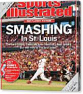 Smashing In St. Louis Sports Illustrated Cover Canvas Print